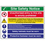 Site Security Signs