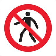 Symbol Only Prohibition Signs