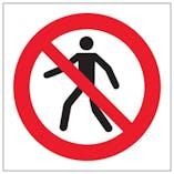 Eco-Friendly No Entry Symbol