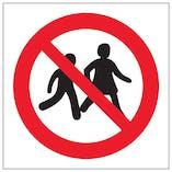 No Children Logo