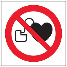 No Pacemakers Symbol