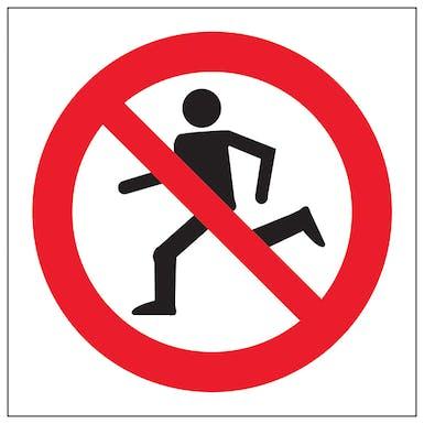 No Running Symbol