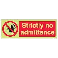 GITD Strictly No Admittance