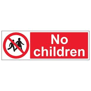 No Children - Landscape