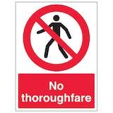 No Thoroughfare - Portrait