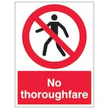 No Thoroughfare - Portrait