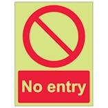 GITD No Entry - Portrait