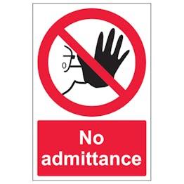 No Admittance - Portrait