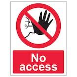 Eco-Friendly No Access