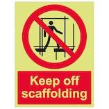 GITD Keep Off Scaffolding