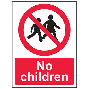 No Children - Portrait