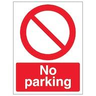 No Parking - Portrait