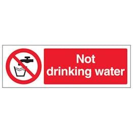 Eco-Friendly Not Drinking Water - Landscape