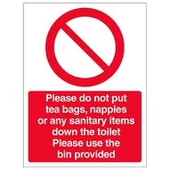 Please Use Bin Provided