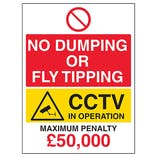 Fly Tipping Signs