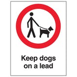 Keep Dogs On A Lead - Polycarbonate