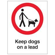 Keep Dogs On A Lead