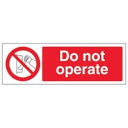 Do Not Operate - Landscape