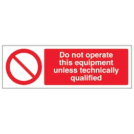 Do Not Operate This Equipment Unless - Landscape