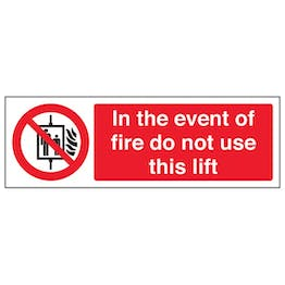 Eco-Friendly In The Event Of Fire Do Not Use This Lift