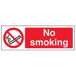 No Smoking Landscape- Polycarbonate