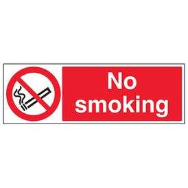 No Smoking  - Landscape