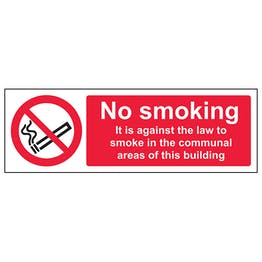No Smoking In Communal Area - Landscape