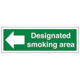 Designated Smoking Area - Left