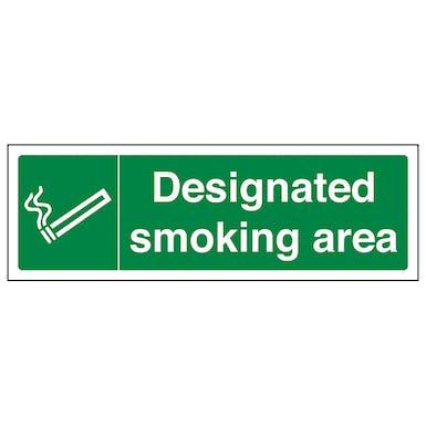 Designated Smoking Area - Landscape