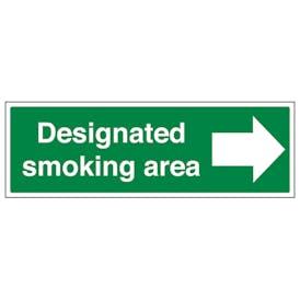 Designated Smoking Area - Right