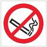 No Smoking Symbol - Window Sticker