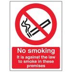 No Smoking In These Premises - Portrait