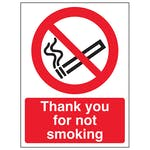 Thank You For Not Smoking - Portrait