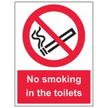No Smoking In The Toilets - Portrait