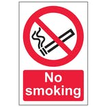 No Smoking - Portrait