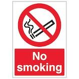 No Smoking - A4