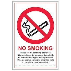 Scottish No Smoking Premises