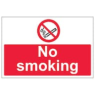 No Smoking - Large Landscape