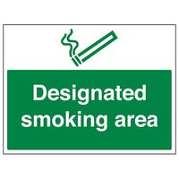 Smoking Area Signs