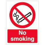 No Smoking - Window Sticker
