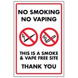 Smoking & Vaping Signs
