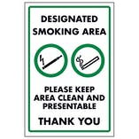 Designated Smoking area Please Keep Area Clean and Present...