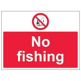 No Fishing - Large Landscape