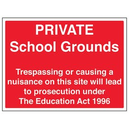 Private School Grounds