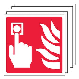 5-Pack Fire Alarm Symbol