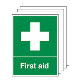 5-Pack First Aid - Portrait