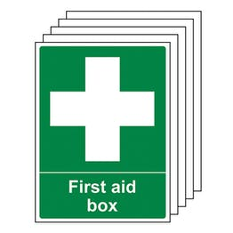 5-Pack First Aid Box - Portrait