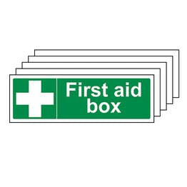 5-Pack First Aid Box - Landscape