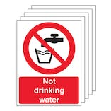 5-Pack Not Drinking Water