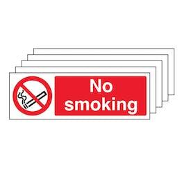5-Pack No Smoking - Landscape